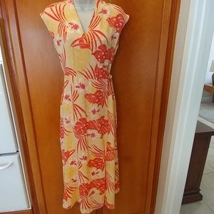 Wrap Hawaiian dress